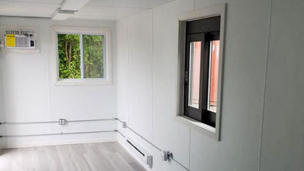 Shipping Container Modifications: Office & Storage