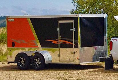 new haulmark trailer