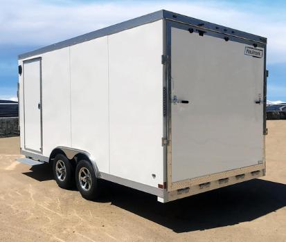 best enclosed snowmobile trailer