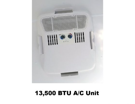 disaster relief trailer ac unit