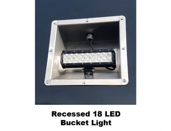 emergency response trailer with bucket light