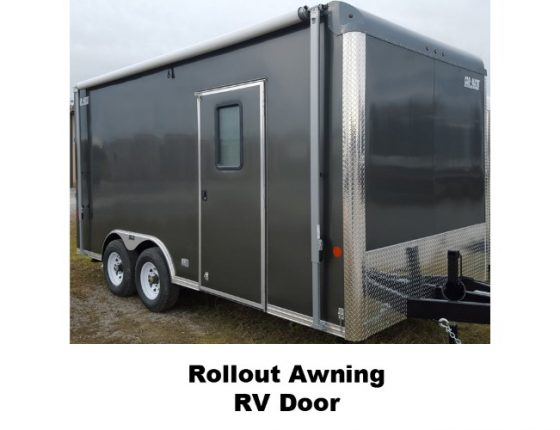 emergency response trailer with awning