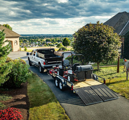 best trailer for a lawn care business