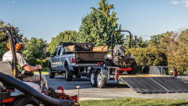 Open Lawn Mower Trailer: Advantages & Key Options