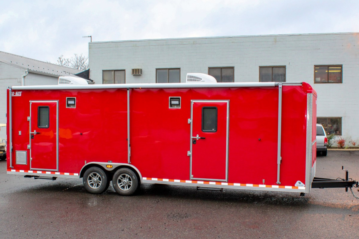 disaster relief trailer