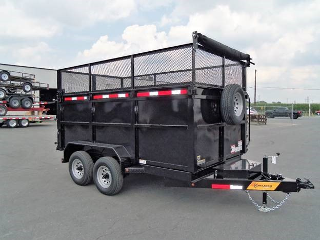 junk hauling trailer
